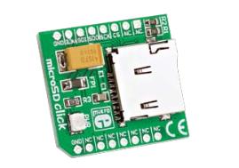 Figura 6: Modulo microSD Click