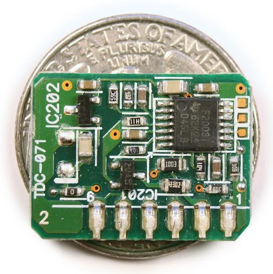 Figura 9: Il microcontrollore MSP340