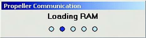 Figura 11. Tramite il tasto F10 si procede alla compilazione e al download in RAM del codice