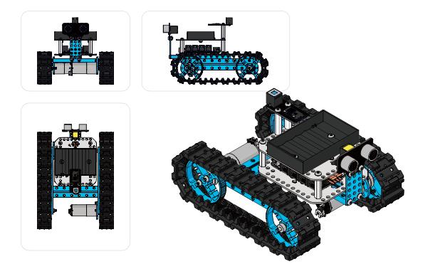Figura 1: Makeblock Starter kit Robot