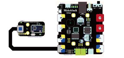 Figura 4: Collegamento del modulo Bluetooth con la scheda Me Orion