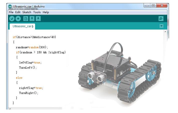 Figura 6: Programmazione Arduino