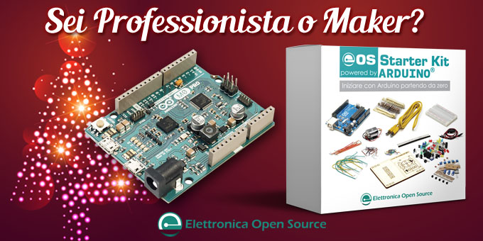 Sei Maker o Pro? Scegli tra Starter Kit e Arduino M0 Pro in omaggio con l'abbonamento Platinum!