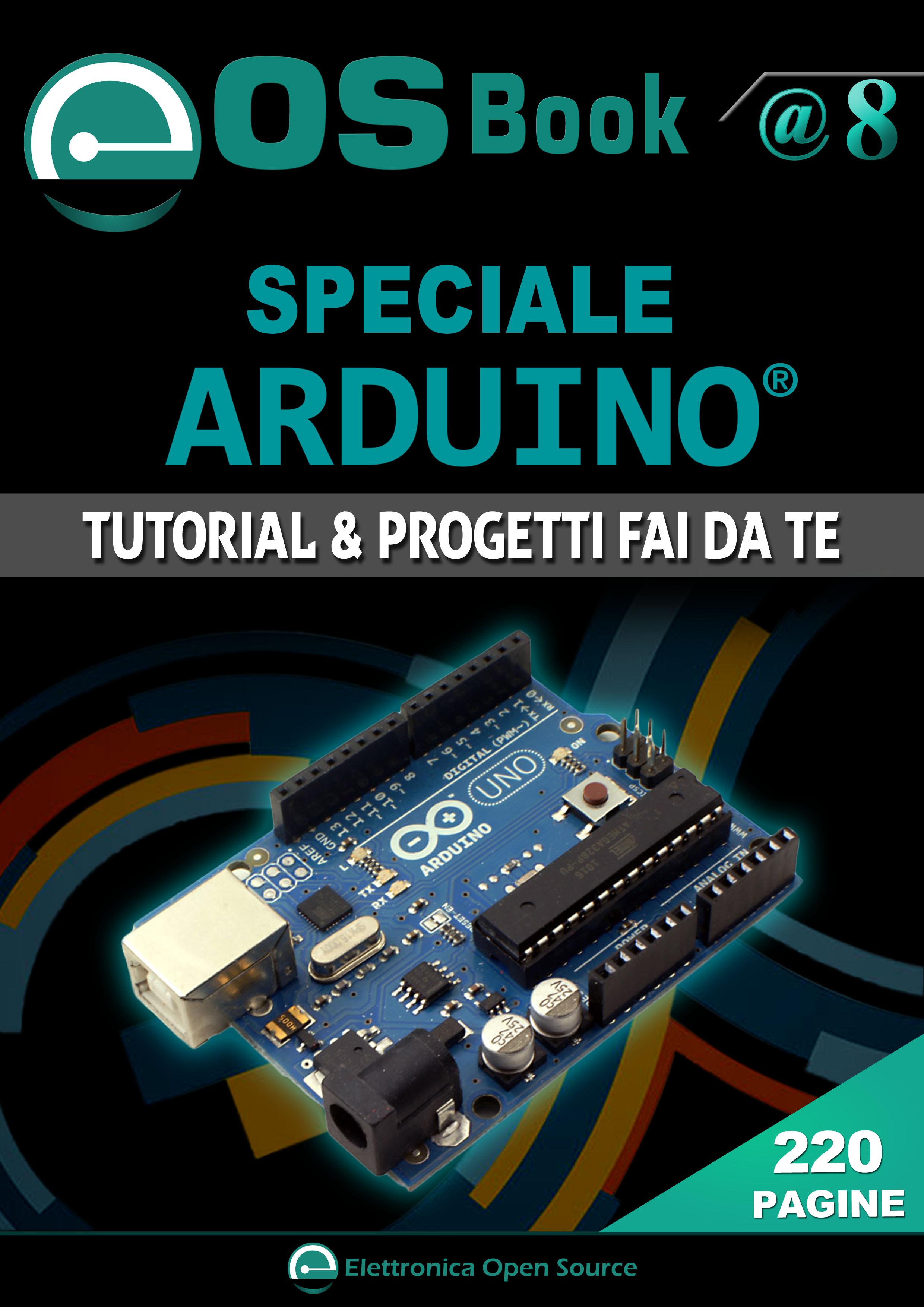 Eos book speciale arduino in omaggio elettronica open