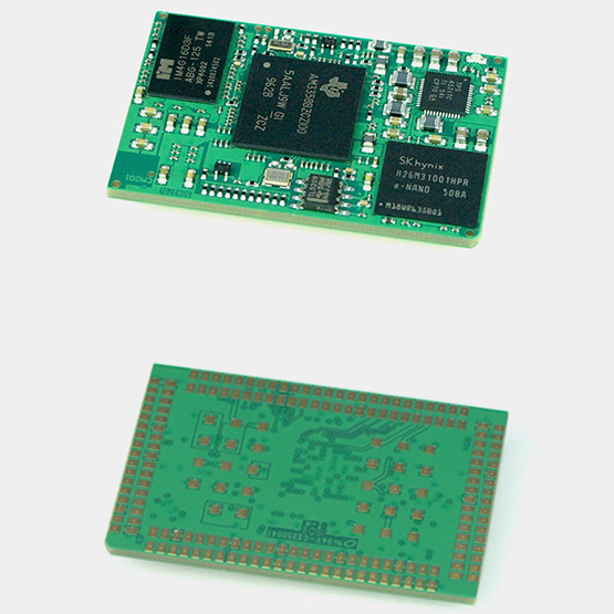 Figura 1: Il modulo BCM1 Beagle Core