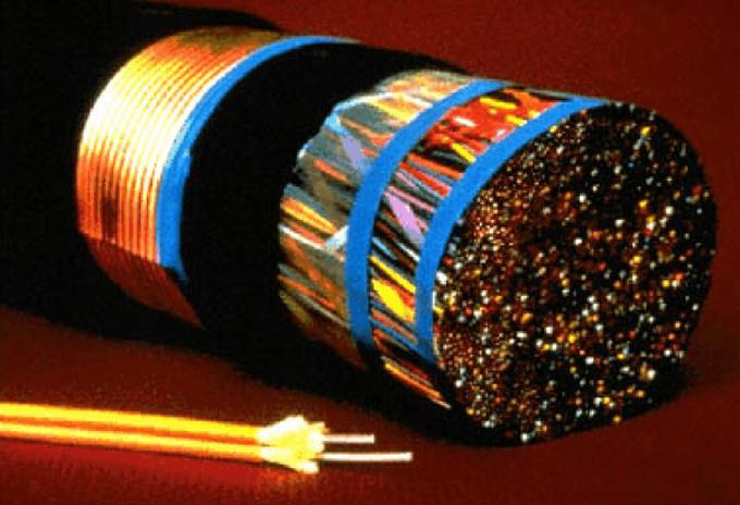 Figura 1 – l'evidente compattezza della soluzione basata su fibra ottica