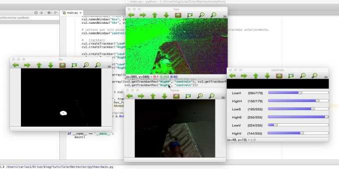 opencv screen