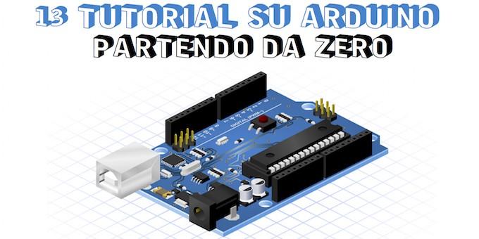 Tutorial da zero su arduino elettronica open source