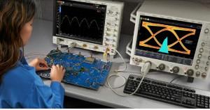 Figura 1: esempio di test circuitali con oscilloscopi digitali a basso rumore e basso jitter