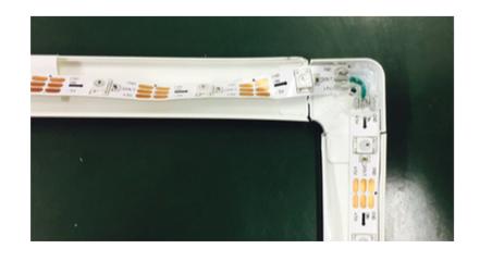 Figura 4: Collegamento dei LED