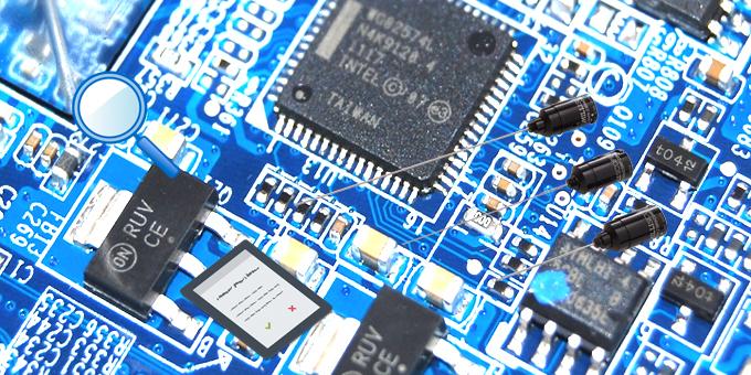 test circuiti stampati