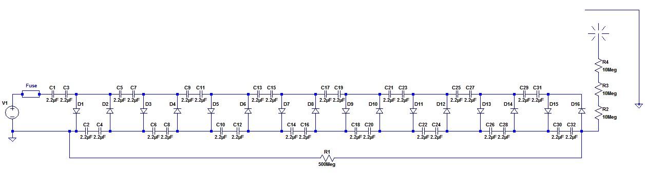 Figura 6: Schema elettrico completo.