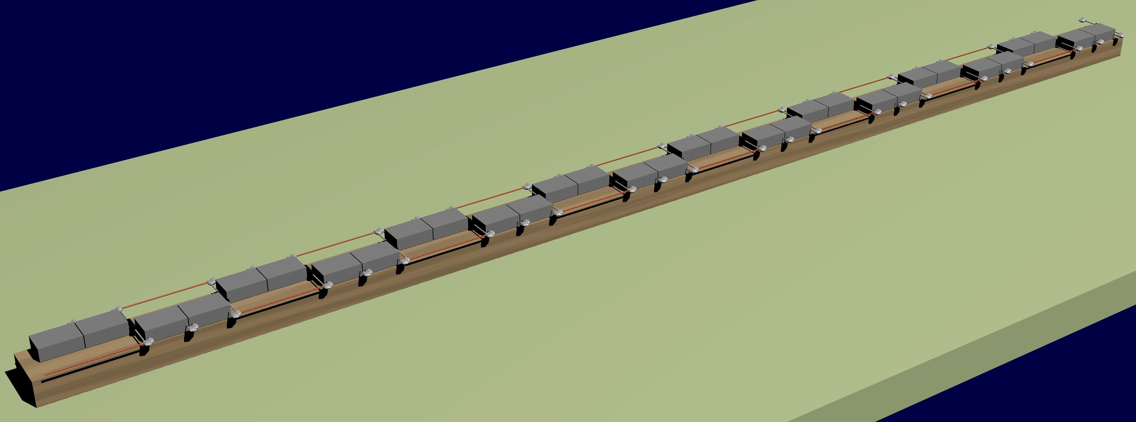 Figura 11: Il montaggio dei componenti in 3D.
