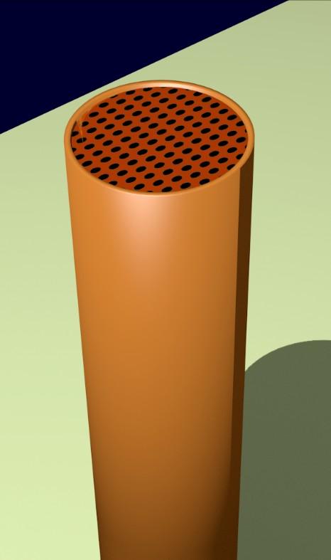Figura 16: Applicazione della griglia protettiva.