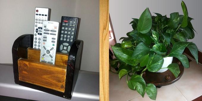 Due utili realizzazioni in legno per la festa della mamma