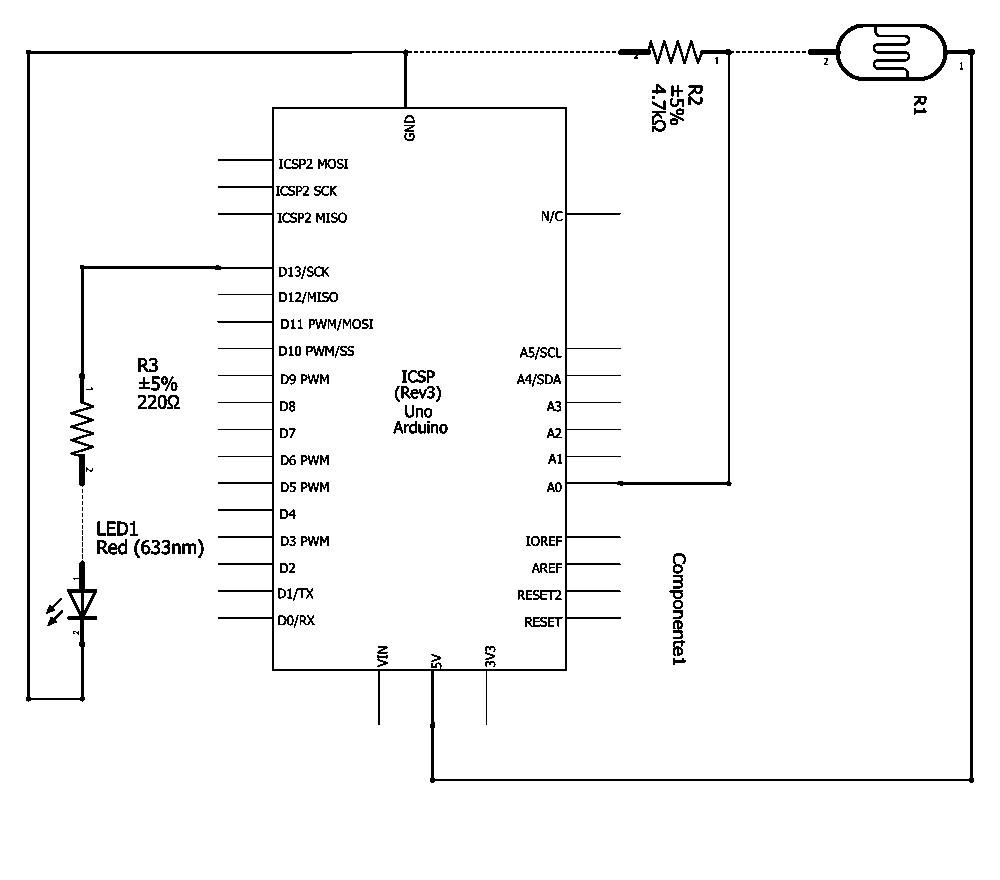 Schema Elettrico Crepuscolare : Iniziare da zero con il kit arduino semplici applicazioni
