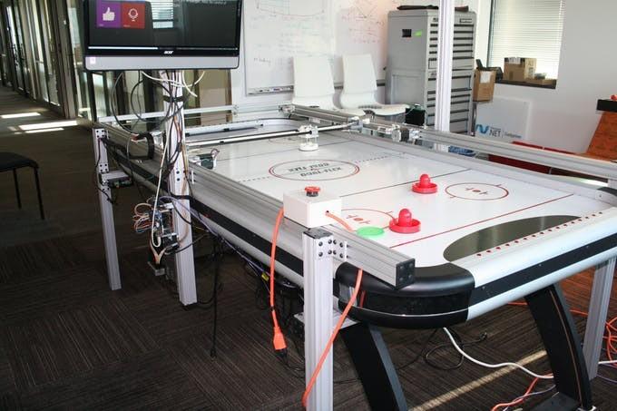 Figura 3: Il grandioso progetto Air Hockey Robot.
