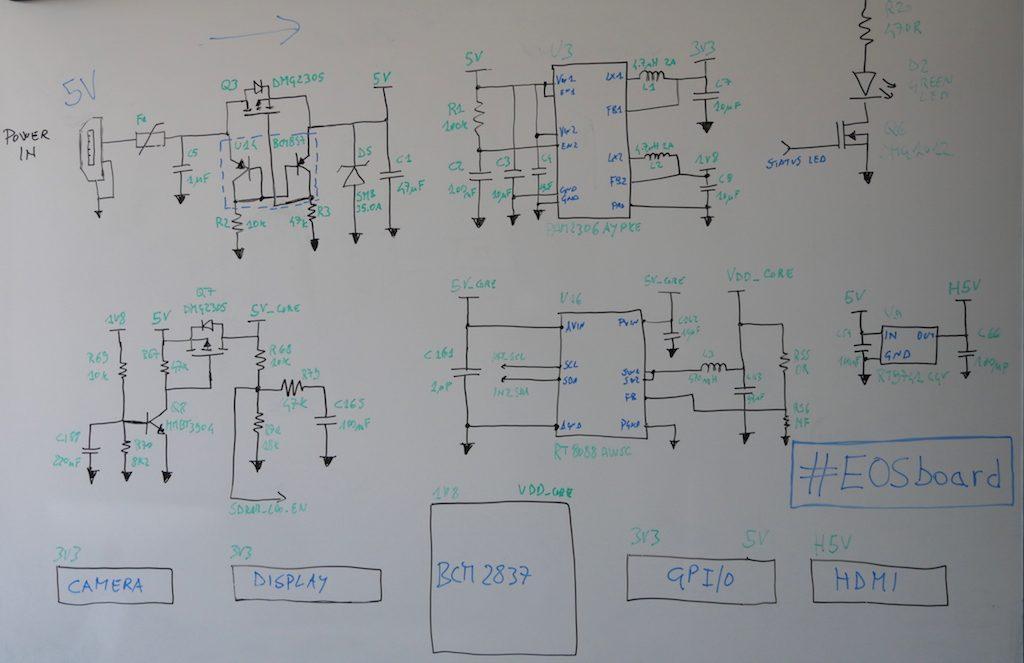 Schema elettrico Raspberry Pi 3