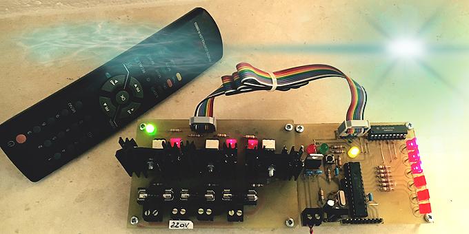 Scheda di Controllo carichi con TRIAC