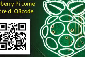 Raspberry Pi come lettore di QRcode