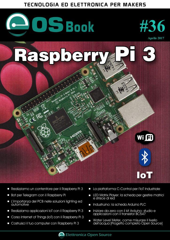 Eos book dedicato a raspberrypi elettronica open source