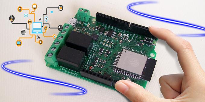 La nuova scheda ESPertino per l'IoT