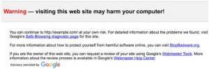 gmail avviso messaggio sicurezza