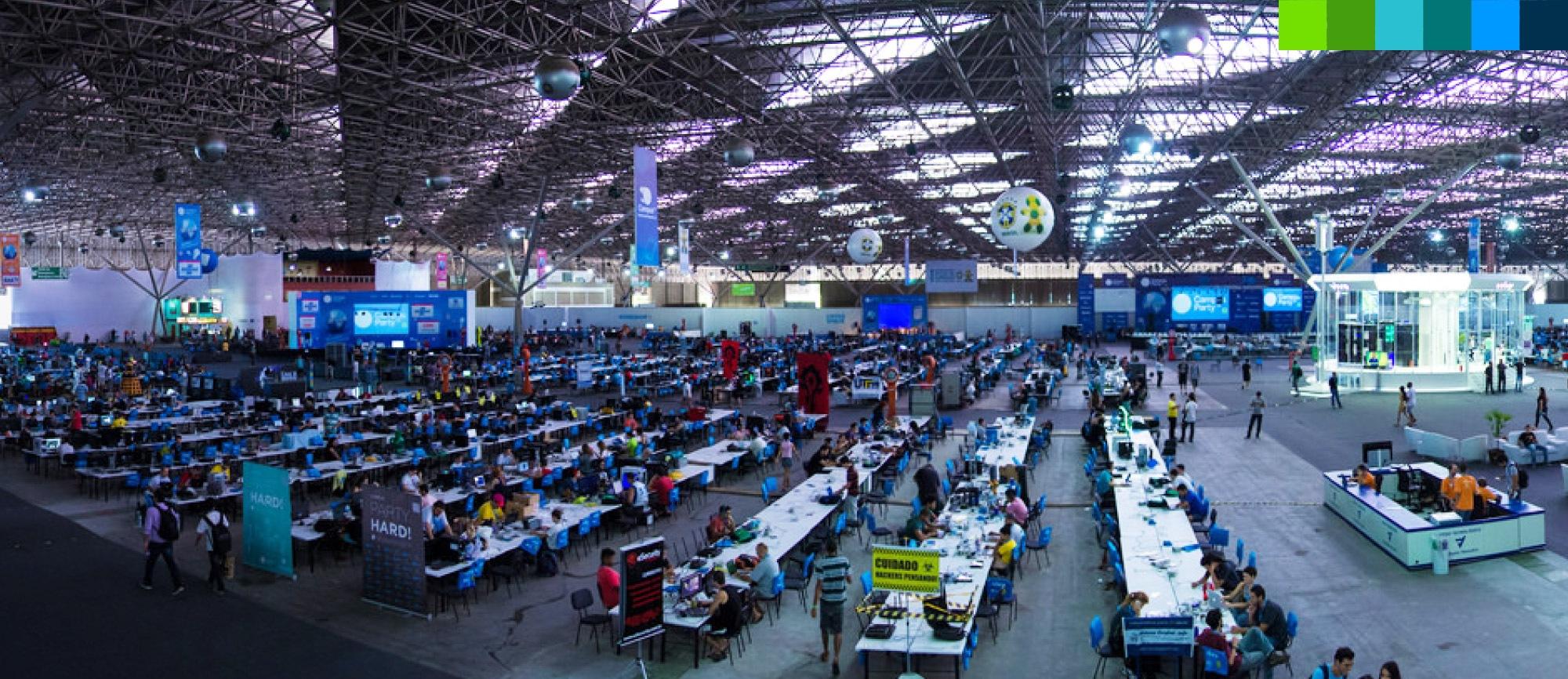 """Figura 3: Arena è il luogo dove i """"Campuseros"""" lavorano e stanno assieme"""