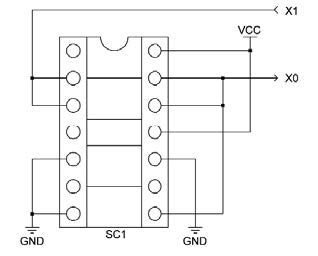 Figura 7: circuito di oscillazione.