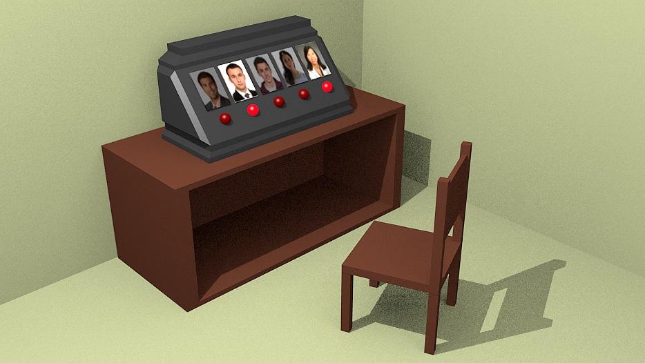 Figura 1: il pannello aziendale con cui gestire i compiti del personale