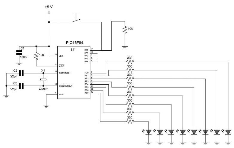 Figura 1: schema sperimentale del prototipo.