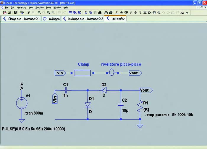 Figura 10: schematico originale e schematico ad alto livello.