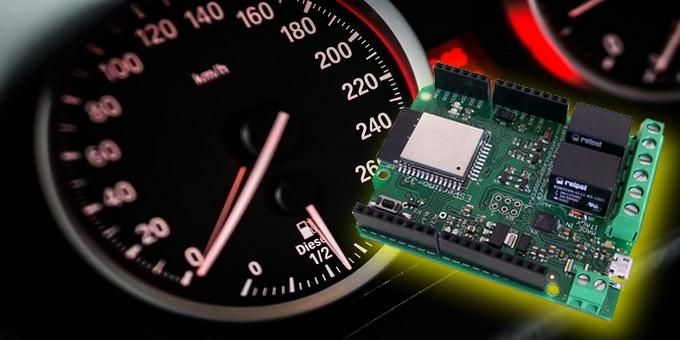 Schema Elettrico Voltmetro Per Auto : Costruiamo un tachimetro demergenza con espertino elettronica