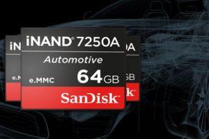 iNAND 7250A: la flash embedded per il settore automotive