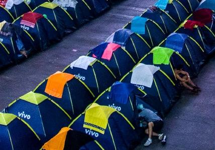 Figura 1: il Camping del Campus Party