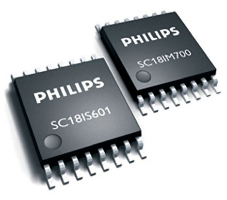 Figura 3: un dispositivo SC18IM700.