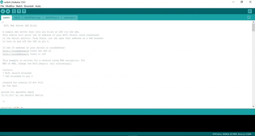 Figura 1 - IDE Arduino