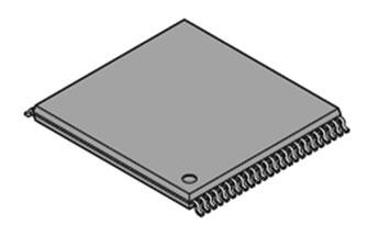 Figura 3: MB85R2001/2: grazie ai suoi 2 Mbit, questa è attualmente la memoria FRAM stand-alone più grande prodotta su larga scala da Fujitsu.