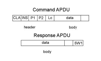 Figura 1: campi delle command e response APDU.