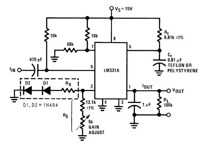 Figura 7: diodi e resistori per la riduzione del coefficiente di temperatura.