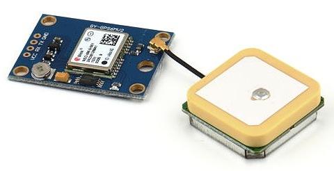 Figura 4: il ricevitore GPS GY-NEO6MV2