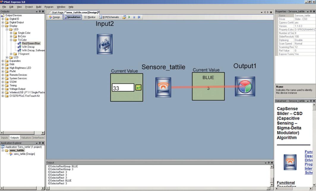 Figura 8: schermata di simulazione.