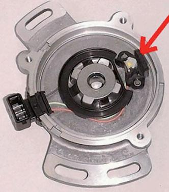 Figura 4: sensore di hall calettato in un motore