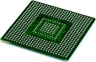 Figura 13: BGA (Ball Grid Array) - Fonte: techfuels.com.