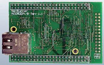 Figura 2: il modulo NetBurner MOD5234.