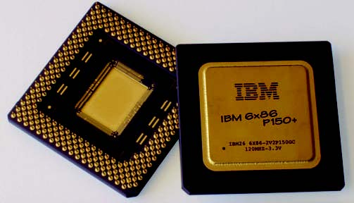 Figura 12: PGA (Pin Grid Array) - Fonte: IBM.