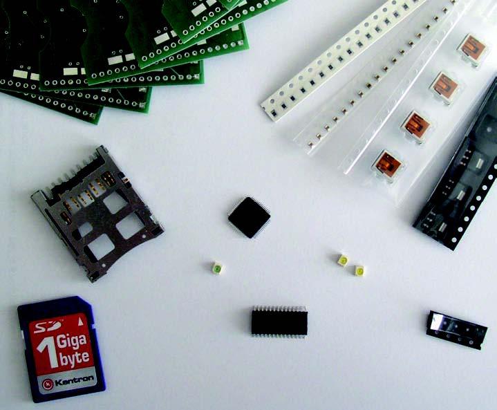 Figura 5: alcuni dei componenti