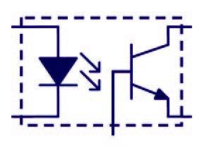 Figura 4: fotoaccoppiatore semplice.