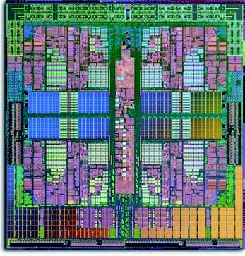 Figura 5: il quad-core Opteron di AMD (Fonte: www.amd.com).