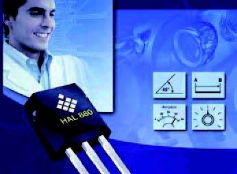 Figura 5: il sensore HAL880 di Micronas.